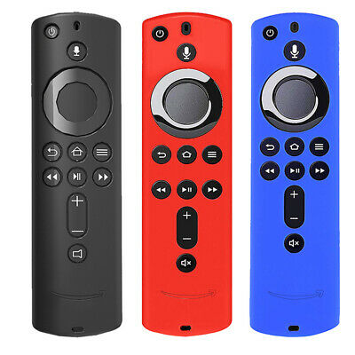 Remote Silicone Case Protective Cover Skin for Fire TV Stick 4K TV St LKTPTd