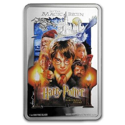 2020 - 1 OZ Silver Proof -HARRY POTTER™ Classic Poster - The Sorcerer's Stone