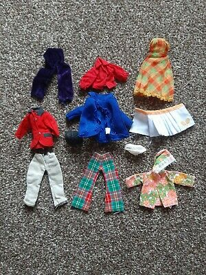 Vintage 1970s Palitoy Pippa Doll Clothes Bundle