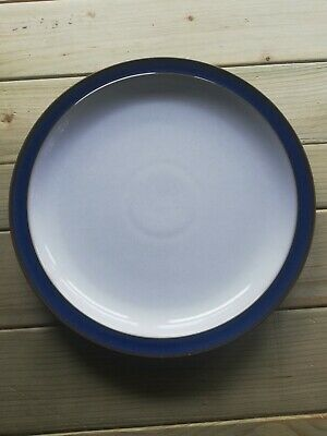 Denby Imperial Blue dinner plate 10.25 inches