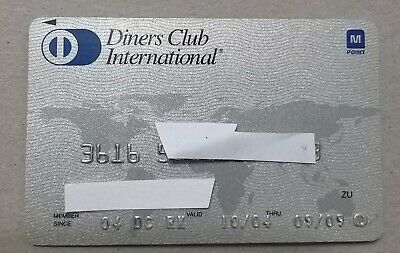 credit card diners club korea expired