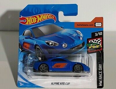 1/64 HOT WHEELS 2020 ALPINE A110 CUP    3 Inches 1/60