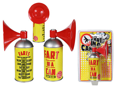 Fart In A Can Novelty Joke Electric Sound Making Item Funny Children Gift Prank