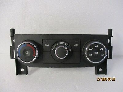 07 08 09 10 11 chevy hhr heater ac control switch panel 15906840 NON-heated seat