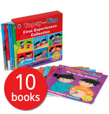 Topsy and Tim: First Experiences Collection - 10 Books