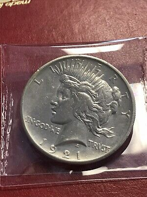 1921 Peace Dollar, Always In High Demand Key Date First Year Issue