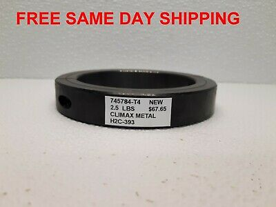 Climax Metal Shaft Collar H2C-393       Item 745784-T4