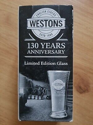 only £4.95 inc Westons Cider half pint glass P/&P