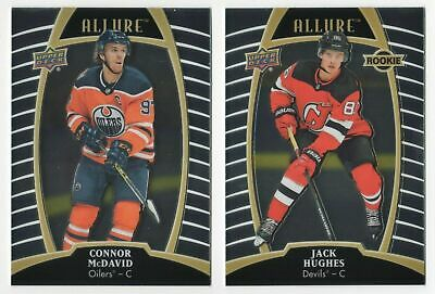 19/20 Allure Hockey Base Cards Pick Choose Flat Shipping Rate