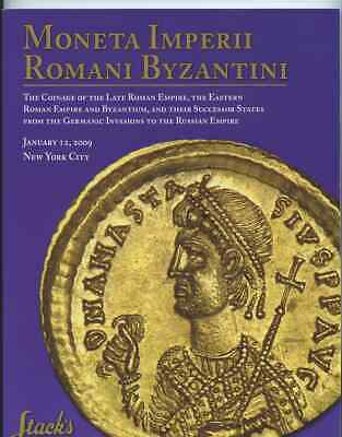 Stack's Auction Catalogue;  Late Roman, Eastern Roman and Byzantine Empires