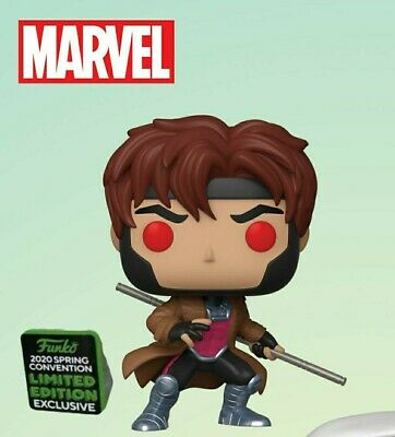 Funko ECCC 2020 Marvel: Gambit Shared Exclusive Preorder