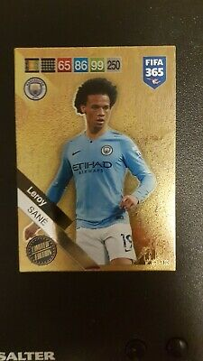 Panini Adrenalyn 2019 FIFA 365 Sane Limited Edition RARE x card no 250