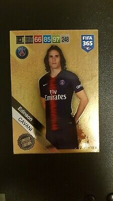 Panini Fifa 365 Adrenalyn Xl 2019 Edinson Cavani Limited Edition Card No 248