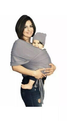 BABY SLING STRETCHY WRAP CARRIER - mothers cuddle- BREASTFEEDING - Birth To 3yrs