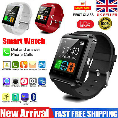 Smart Watch Band Bluetooth Activity Fitness Tracker For Kids Fit Android iOS UK