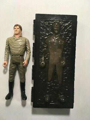 Star Wars 1985 Han Solo Carbonite Loose Vintage Power of the Force POTF