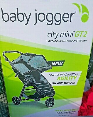 Baby Jogger City Mini GT 2 Baby Stroller New JET Color