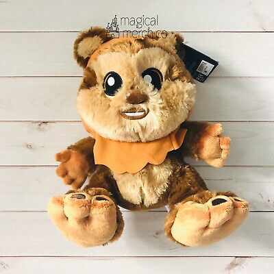 "2020 Disney Parks Star Wars Wicket Ewok Big Feet 10"" Plush NWT"