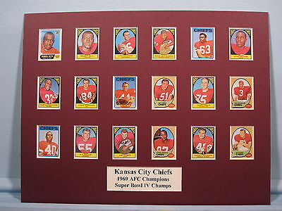 Kansas City Chiefs - 1969 AFC & Super Bowl IV Champs