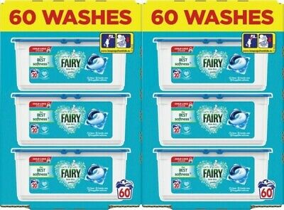 Fairy Non Bio Washing Pods Liquid Gel Laundry Capsules - 120 Washes