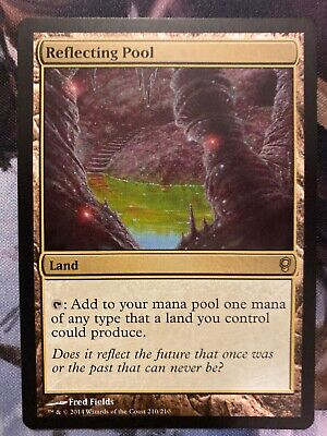 Land Shadowmoor Mtg Magic Rare 1x x1 1 PLAYED Reflecting Pool