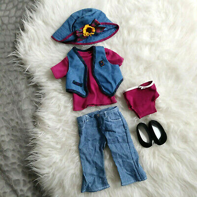 American Girl Mix & Match Magenta Outfit Vintage Retired 1995 Pleasant Company