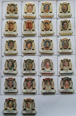 DIFFERENT TEAMS players NHL HOCKEY PHOTO PIN (YOUR CHOICE) # G840