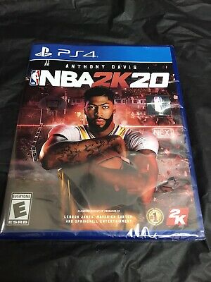 NBA 2K20 Standard Edition PlayStation 4 Game Brand NEW Sealed