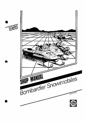 Bombardier service shop manual 1985 ELAN, 1985 CITATION LS & 1985 CITATION LSE