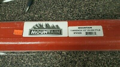 Mountain MTN16250 1/2 In. Drive 25-250 Ft/lbs. TORQUE  Wrench