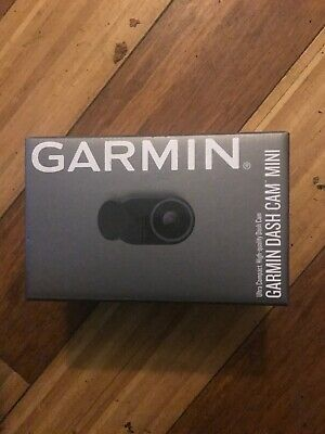 Brand NEW & SEALED!!! Garmin Dash Cam Mini, Car Key-Sized Dash Cam
