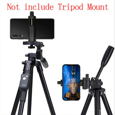 Clip Bracket Holder Monopod Tripod Mount Stand Adapter for Mobile Phone Cam JF