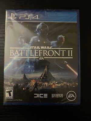 STAR WARS BATTLEFRONT II 2 (PS4) Sony NEW Sealed PlayStation 4