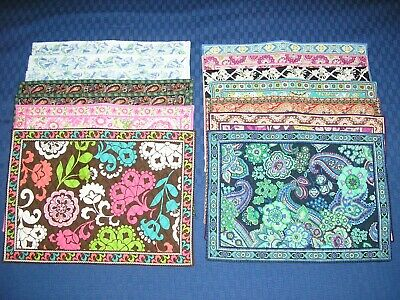 Vera Bradley Varied Assortment Of Placemats Some New, Some Pre-Loved!