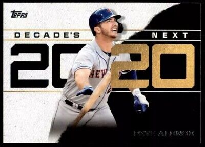 2020 Topps Pete Alonso Decade's Next #DN-11 - New York Mets Series 1