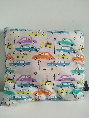 New BABY BOY MINKY AND COTTON PILLOW 33*33 CM CARS