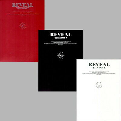 The Boyz - Reveal (1st Album) CD+Booklet+Post Card+Photocard+Fortune Card SEALED