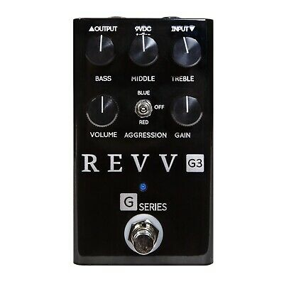 Revv Amplification G3 Distortion Pedal. LImited Edition Black!