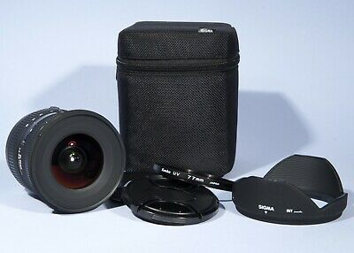 Sigma EX 10-20mm f/4-5.6 DC HSM Wide angle Zoom Lens * Near Mint * Canon EF DSLR