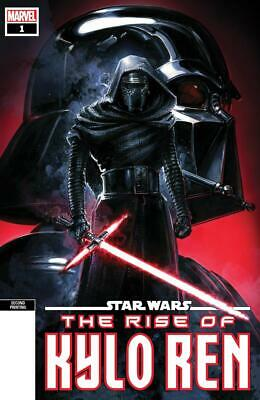 Star Wars The Rise Of Kylo Ren #1 Clayton Crain Cover Marvel