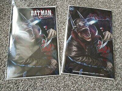 THE BATMAN WHO LAUGHS #3 of 7 SKAN VARIANT SET (2019) DC UNIVERSE - Ltd to 600