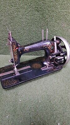antique universal jr hand sewing machine made in germany spares