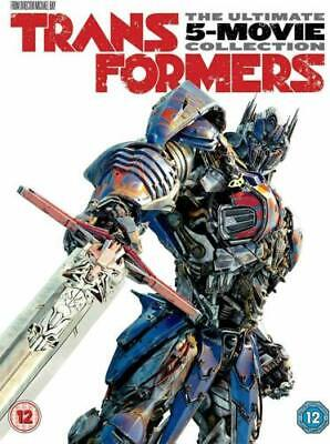 Transformers 5 Movie Collection Dvd Brand New And Sealed