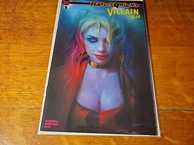 Harley Quinn Villain Of The Year 1 Shannon Maer Exclusive Variant Nm