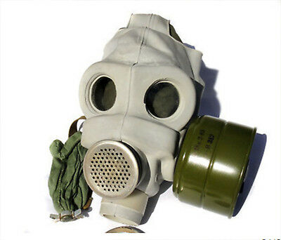 Soviet Russian Military Gas Mask PMG - Complete Kit