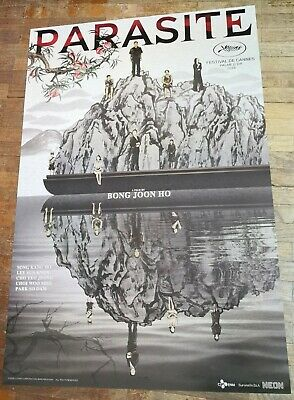 Bong Joon-ho PARASITE 2019 Korean Movie Original INTL 27x40 Double Sided Poster
