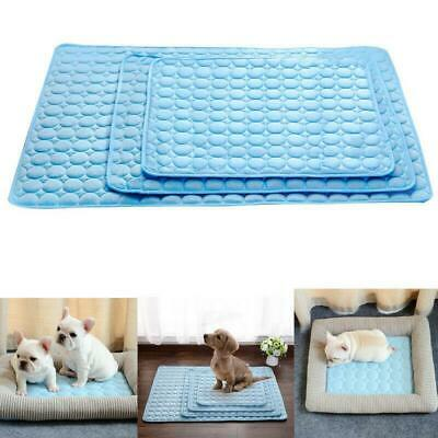 Pet Summer Cooling Mat Cold Bed Pad Comfortable Cushion Dog Cat Puppy Blanket
