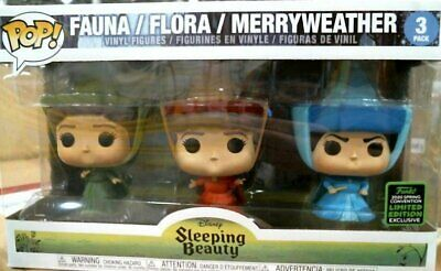 Funko ECCC 2020 Disney Sleeping Beauty 3 Pack Shared Exclusive Preorder