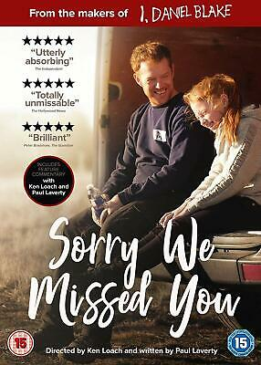 Sorry We Missed You - Kris Hitchen [DVD] Released On 09/03/2020