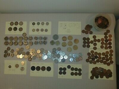 LOT Canada COINS Victoria 1880H THRU CURRENT large cents some silver mixed
